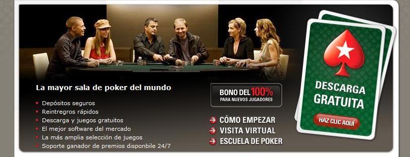 registrate con PokerStars y recibe tu bono de bienvenida